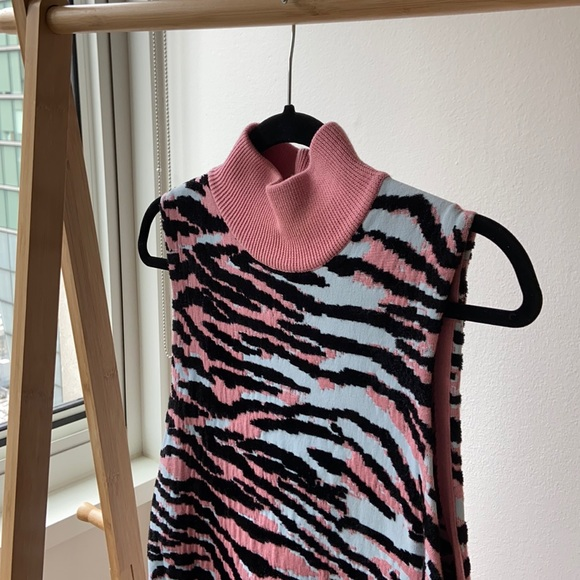 KENZO x H&M Zebra Knit Dress